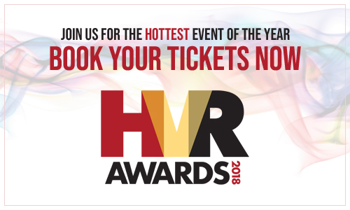 HVR Awards book tickets pop up